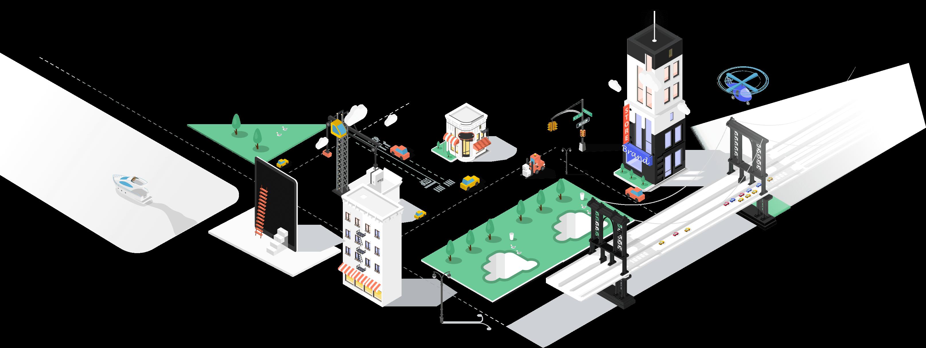 become seller shop illustration