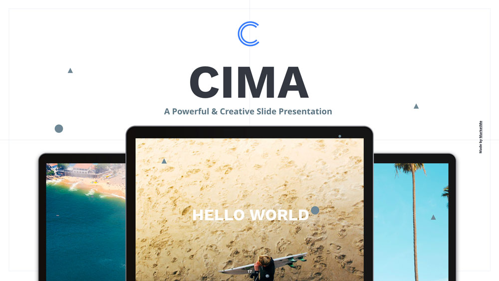 Cima presentation keynote powerpoint googslide