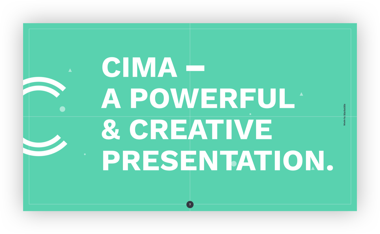 screen cima slide