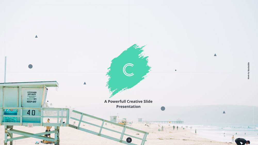 Cima screen presentation slider 3