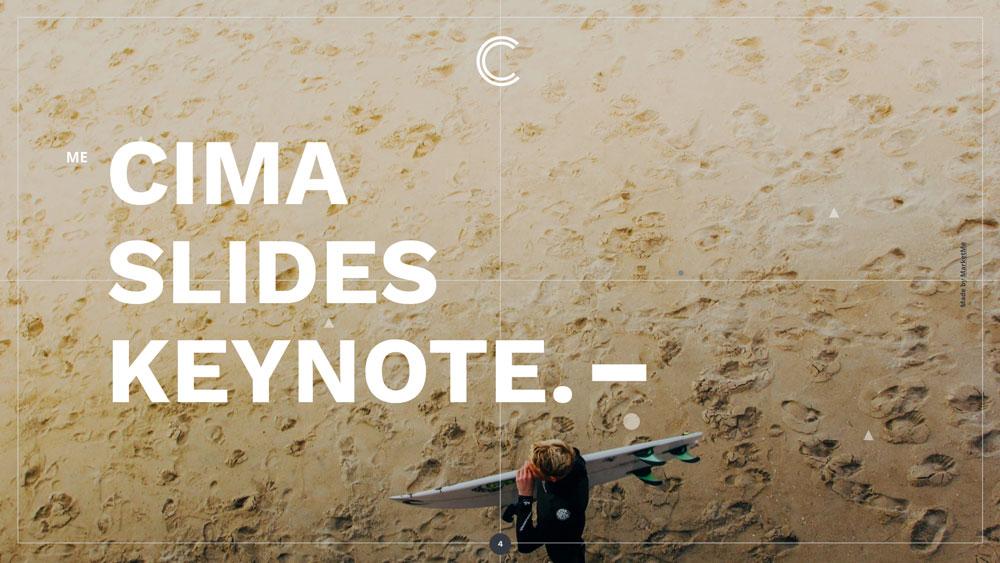 Cima screen presentation slider 4