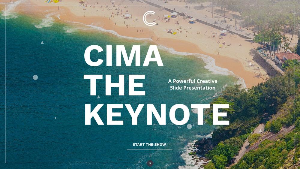Cima screen presentation slider 6
