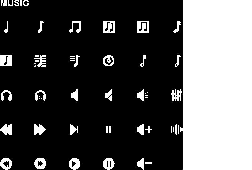 Music icone