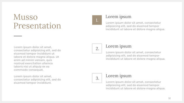 Keynote, PowerPoint and Google Slide Presentation